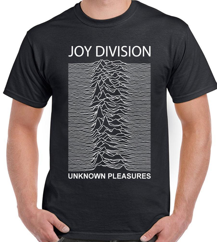 Joy Division Unknown Pleasures - Mens Music T-Shirt Factory Records FAC51 New T Shirts Funny Tops Tee Shirt