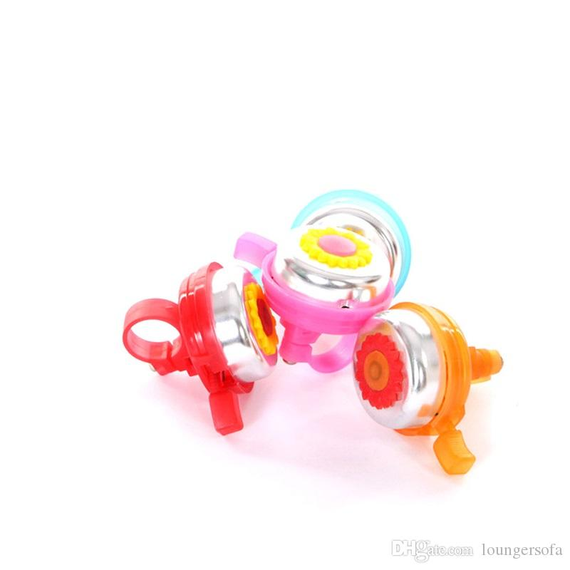 Hot Sale Lovly Small Bells For Children Sunflowers Bell Security Vigilance Away From Hurt Children Bike Horms 1yj ii