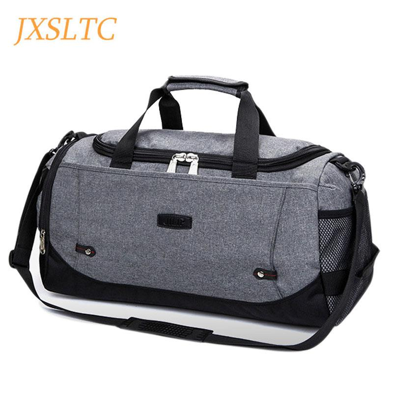 7380ac7872 Brand Fashion Men Canvas Duffle Bags Popular Design Carry On Road Luggage  Bag Male Large Capacity Tote Weekend Travel Duffel Bag Duffle Bags For Women  ...