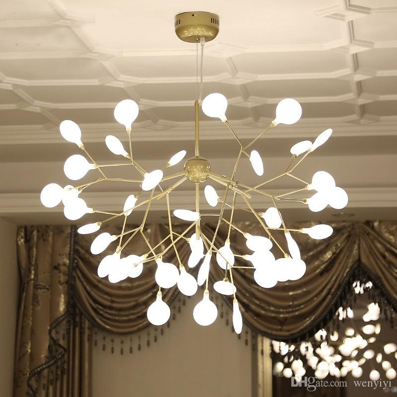 Chandeliers Ceiling Lights & Fans Romantic Modern Led Chandelier Novelty Fixtures Restaurant Glass Ball Lamp Nordic Hanging Lights Bedroom Lighting Living Room Chandeliers And To Have A Long Life.