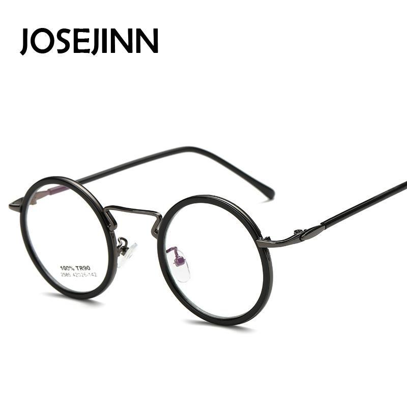 a45cc1f0f9d 2019 Wholesale Fashion Retro Design Men Small Round Eyeglasses Women Myopia  Glasses Vintage Spectacle Frames In Plain Lens Oculos De Grau From  Venus710
