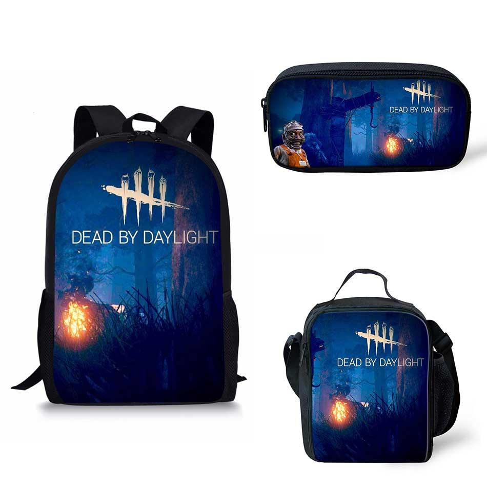 Customized Image Dead by Daylight Print School Bags Kids Boy School  Backpacks Shoulder Bagpack Children Bookbag Satchel Online with   88.61 Piece on ... 7aa5d641b4f60