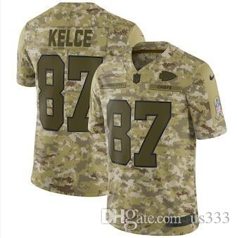6d603c944 2018 Camo Salute To Service Kareem Hunt Travis Kelce Patrick Mahomes Kansas  City Chiefs Jersey Custom American Football Jerseys Usa Color Teams From  Us333
