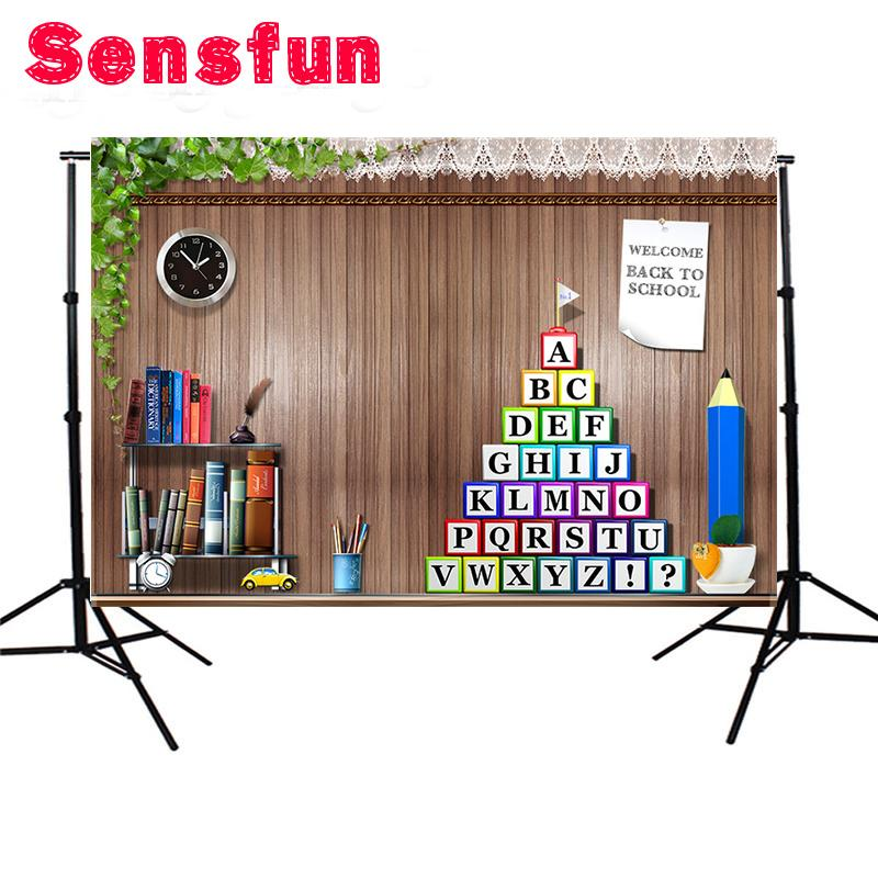 2018 Vinyl Bookshelf Wood Wall Children Back School Party Custom Photo Backgrounds Backdrops 7x5ft From Guojiangcomputer 1602