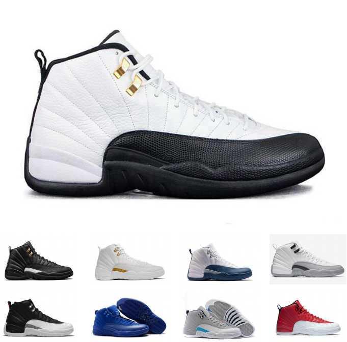 new style f98d9 da491 Acheter Nike Air Jordan 12 Retro Jordans Retros Chaussures De Basket Ball  En Gros Discount Running Sneakers Pas Cher Sport Sneaker Cyclisme Soccer ...