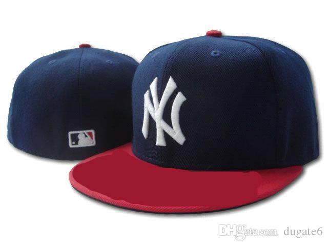 New Fashion Hot High Quality New York Mets Fitted Hats For Men Women Sports  Hip Hop Mens Bones Cap Customized Hats Custom Hat From Dugate6 09caea7f56