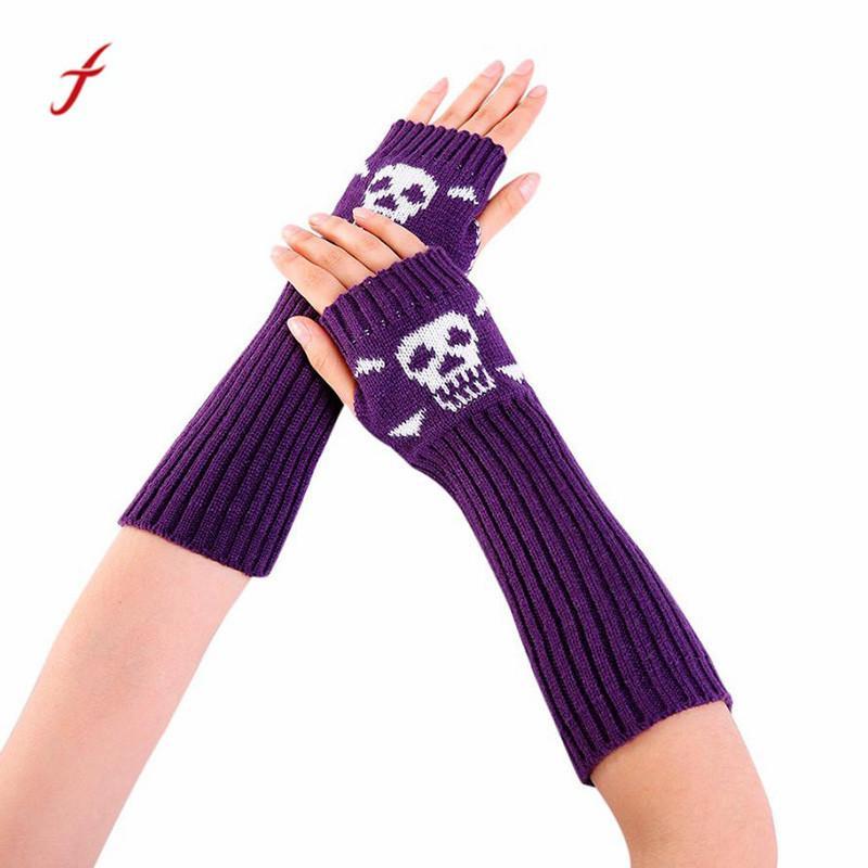 Apparel Accessories Winter Women Fingerless Gloves Fashion Love Heart Knitted Fitness Gloves Girls Women Hand Warm Mittens Autumn 100% Original
