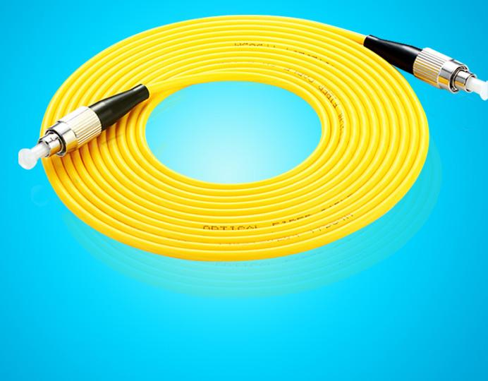 30M FC Simplex 9 125 SingleMode Fiber Optic Cable Patch Cord Jumper Wholesale Optical Connectors Communications From Paozhu 497