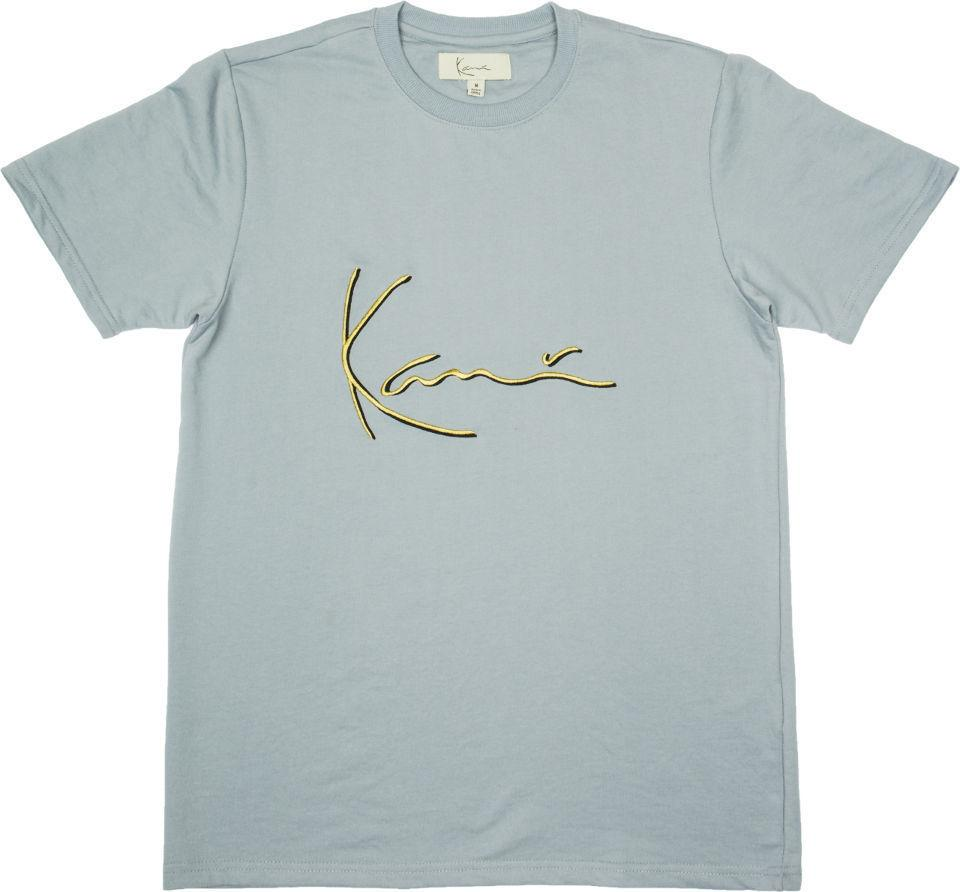 12f57373a Details zu KARL KANI ICONIC SIGNATURE T-SHIRT SILVER EMBROIDERED TEE MENS  90s FASHION Funny free shipping Unisex Casual gift