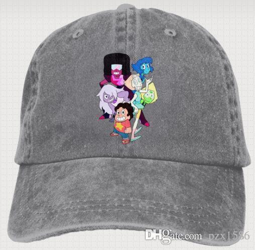 Steven Universe Baseball Caps Fashion Timeless Trucker Hats For Men   Women  Mens Hats Baseball Cap From Pzx1586 eeadf3c9d95