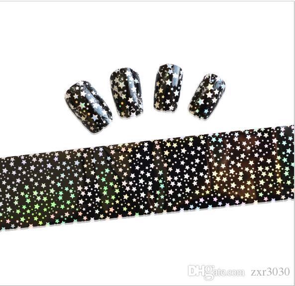 Nail Art наклейки советы украшения ногтей обертывания Harajuku звездное небо новые проекты Manicura наклейки для ногтей наклейки