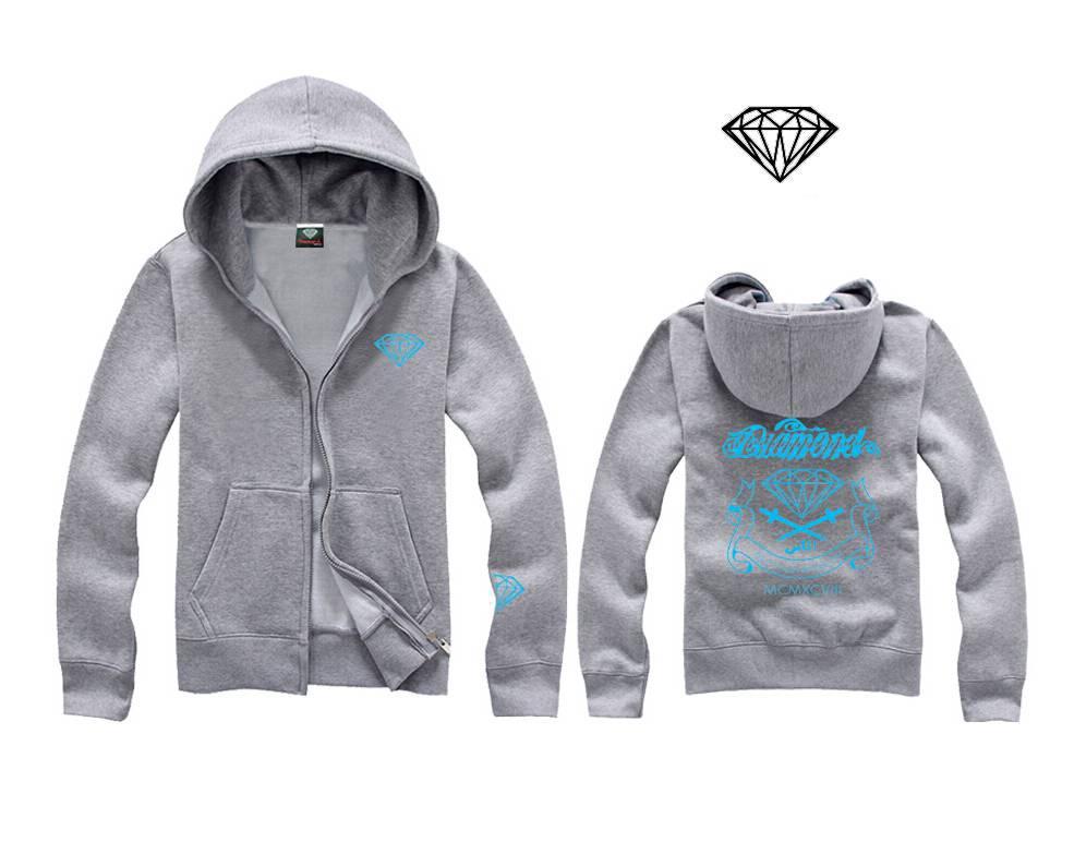 sito affidabile aa378 5838f Felpa Diamond Spring Lover Matching Couple Diamond Supply Co Felpa con  cappuccio Plus 3XL Diamond Girocollo Felpe con cappuccio H07