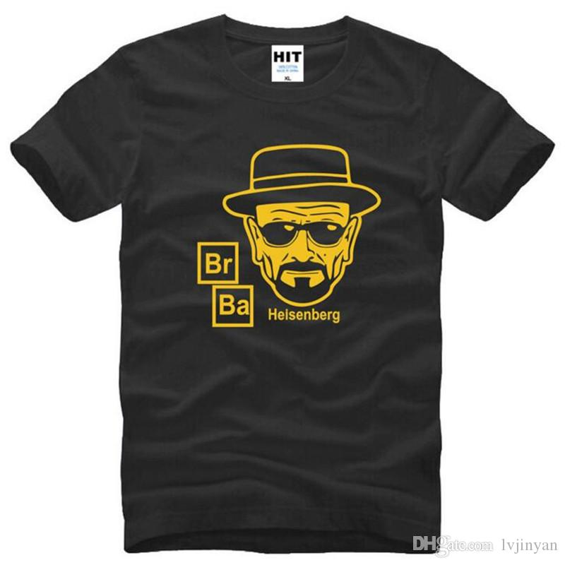 T-shirts Reasonable Breaking Bad Tv T Shirt Custom Short Sleeve Brand-clothing New Style Brand Xxxl O-neck Cotton Tee Shirts Homme Men's Clothing
