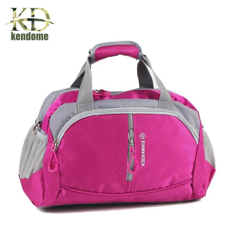 b8c3bf094a33 2018 Professional Nylon Waterproof Sports Gym Bag Women Men for the ...