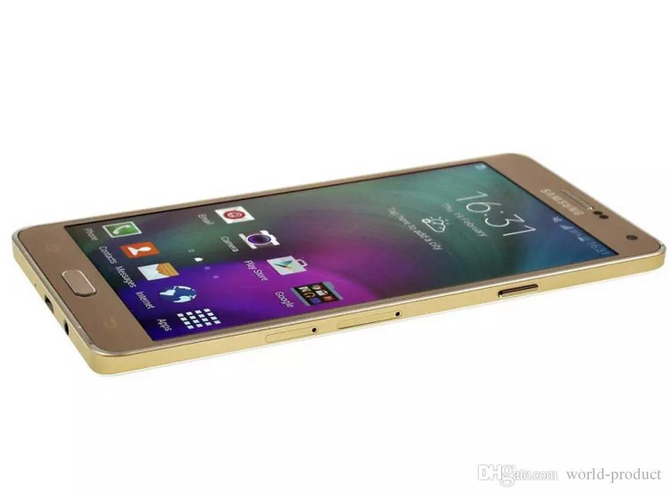 تم تجديده الأصلي سامسونج غالاكسي A7 A7000 4G LTE 2GB / 16GB مقفلة الهاتف الثماني الأساسية 2GB / 16GB الهاتف الذكي ختم صندوق