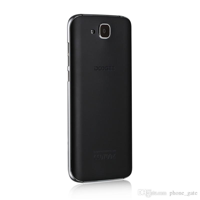 D'origine Doogee X9 Mini 5.0inch Téléphone Mobile 3G WCDMA Android 6.0 OS Réel Empreinte Digitale ID GPS Bluetooth WIFI Smartphone