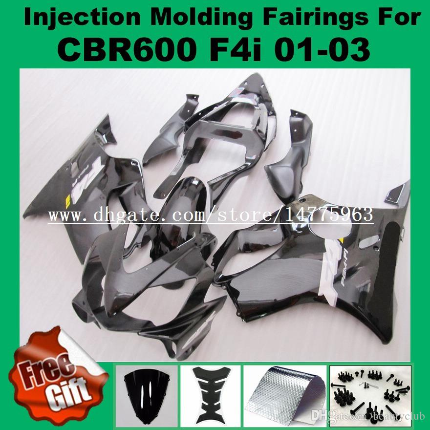 9Gifts injection molding fairings For HONDA CBR600F4i 01-03 CBR600RR F4i 01 02 03 CBR 600 F4i CBR 600F4i 2001 2002 2003 Fairing kits #83P12