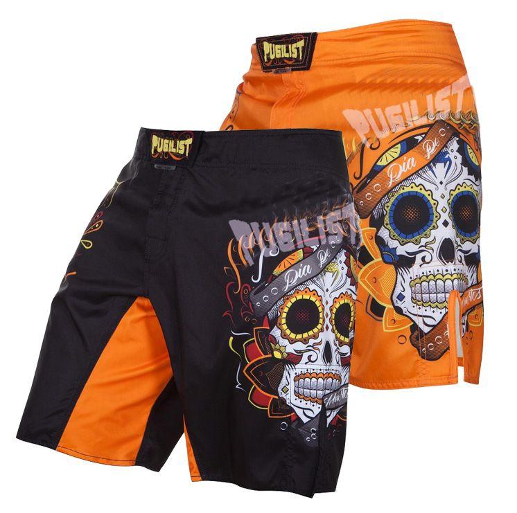 6ea3aedc0dfb Acquista Pantaloncini Da Uomo MMA Pantaloncini Da Boxe Pantaloncini Da Boxer  SANTA MUERTE 2.0 A $20.31 Dal Violet_rose   DHgate.Com