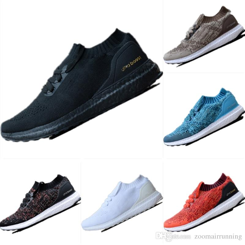 cheap for discount 917d4 fd0b7 2018 New UB Uncaged Breathable Primeknit Slip-on Socks Running Sneakers UB  Uncaged Cushioning Outdoor Athletic Shoes