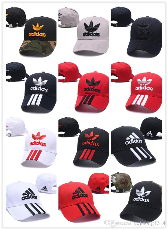 e20050b8c5e 2018 NEW Ball Caps Embroidered Letters Hat Adjustable Cotton Luxury Brand  Hip Hop Icon Caps Leisure Baseball Hats Men Women Sports Caps Online with  ...