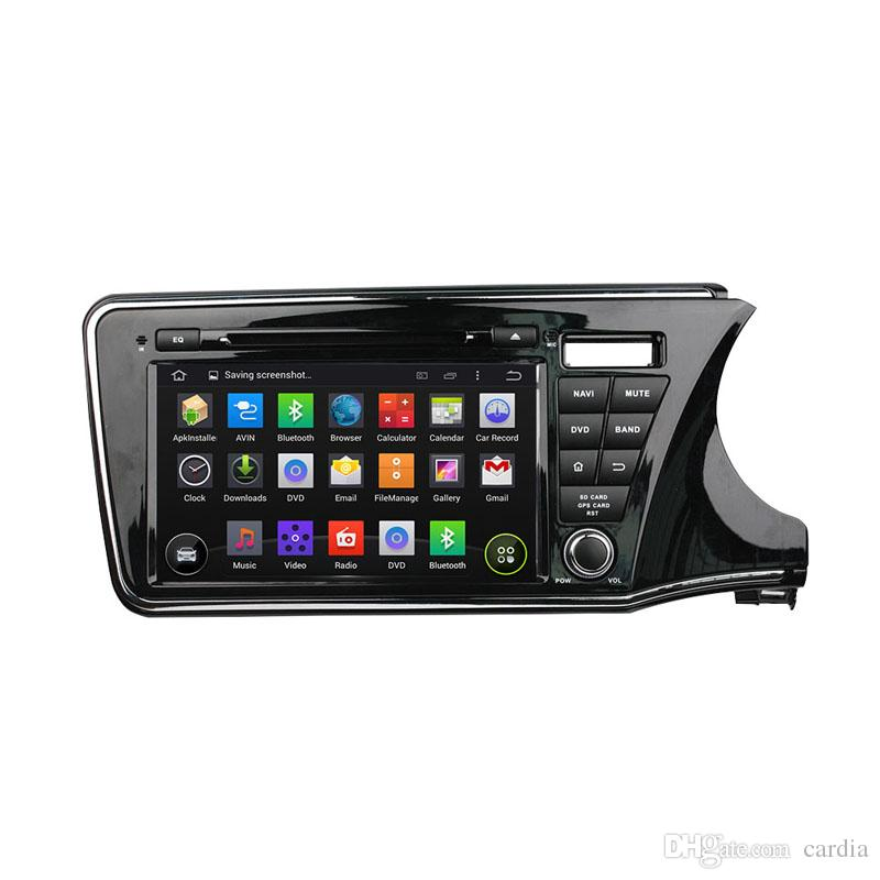Car DVD player for Honda CITY 2015 right driving 9inch Octa-core Andriod 8.0 with 4GB RAM,GPS,Steering Wheel Control,Bluetooth,Radio