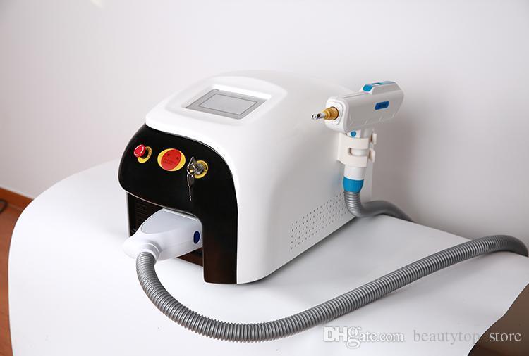 Pantalla táctil profesional ND Yag Q Switch láser Eliminación de tatuajes del cabello Pigmento Punto Cicatriz Eliminación Rejuvenecimiento de la piel Máquinas CE / DHL