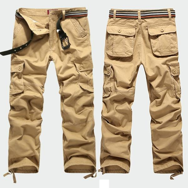 07ffe5b504c 2019 Men Cargo Pants Long Pants Overalls Plus Size Outdoor Pants Men S  Fashion From Timoooo