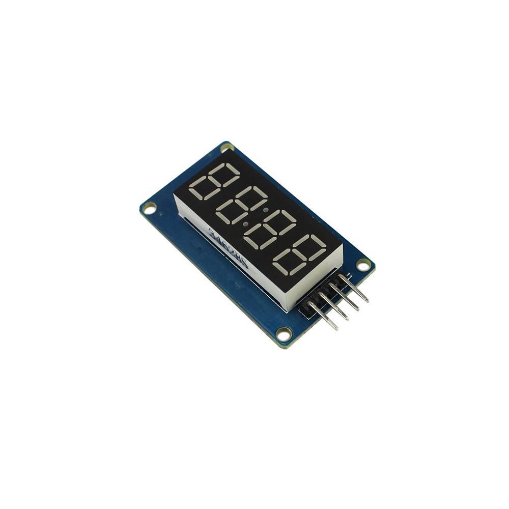 TM1637 LED Display Module 7 Segment 4 Bits 0 36Inch Clock RED Anode Digital  Tube Serial Driver Board Pack for arduino Diy Kit