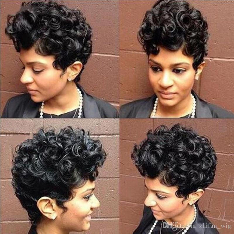 Z Amp F Curly Wigs 12 Inch Short Hair Wigs Curly Hair Rose Net