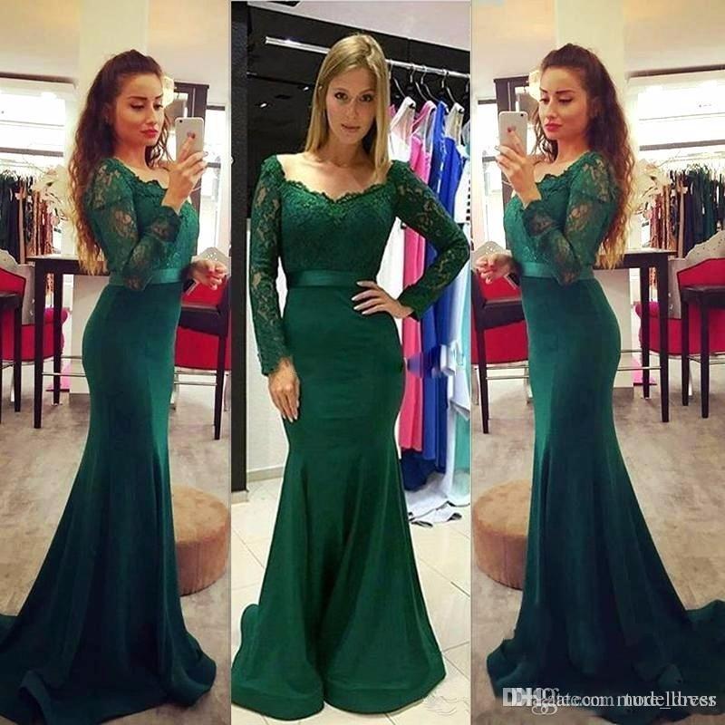 Vestidos para fiesta color verde