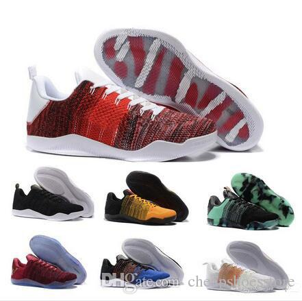66b7ffdad86 2018 High Quality Kobe 11 Elite Mens Basketball Shoes Kobe 11 Red Horse  Oreo Sneakers KB 11 Sports Sneakers With Shoes Box Cheap Basketball Shoes  Boys ...