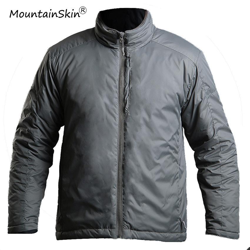 Mountainskin Männer Winter Tactical Jacken Dicke Warme Parkas Thermische Slim Fit Lässige Mäntel Marke Outer LA708