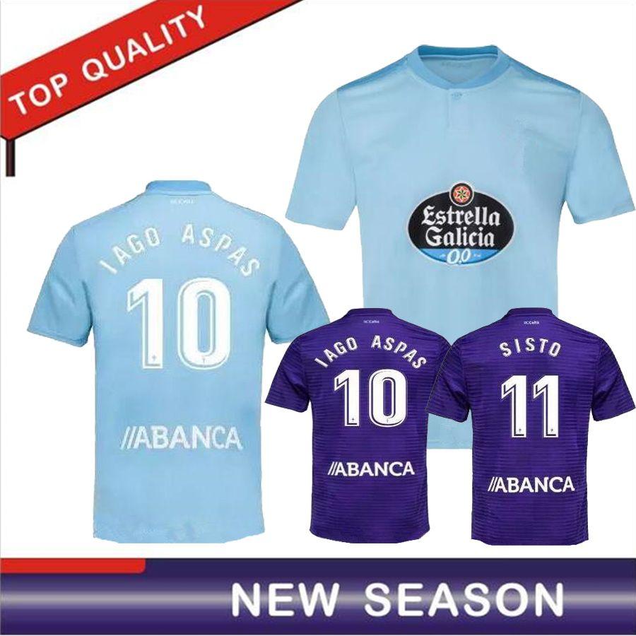 210667ed5be 2019 Celta Vigo Soccer Jersey 18 19 Celta De Vigo BONGONDA HERNANDEZ ...