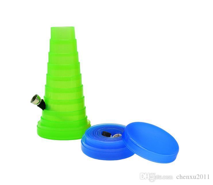Tubo di plastica trasparente Tubo di plastica creativo Tubo telescopico elettronico
