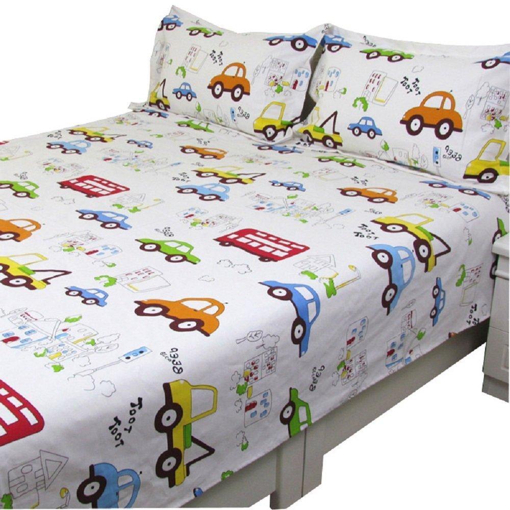 Winlife Cartoon Kids Duvet Cover Cars Bed Cover Cars Print Duvet Kids Bedding Set Boys Bedding Set Bedding Luxury Bedding Linens From Herbertw