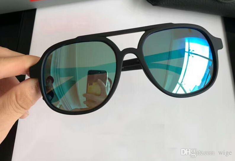 e834959a3c6 Pilot 4312 Sunglasses Matte Black Blue Mirror Polarized Unisex Luxury Designer  Sunglasses Glasses Shades New With Box Baby Sunglasses Designer Eyeglasses  ...