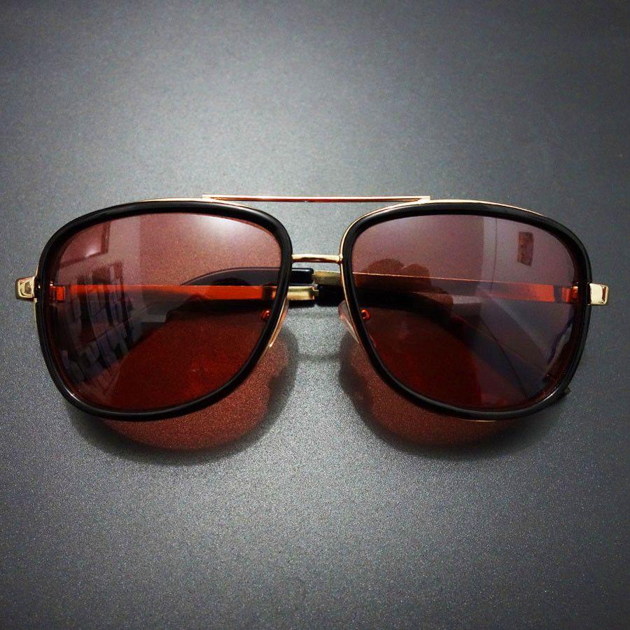06ab335f6117c Iron Man Tony Stark Sunglasses Vintage Sports Punk Sun Glasses For Men Retro  Steampunk Sunglasses Men Luxury Brand Oculos Male Native Sunglasses  Wholesale ...