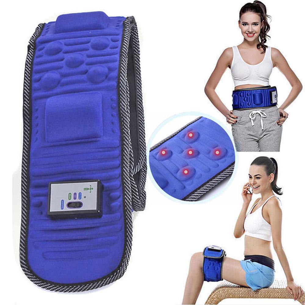 69bb8f0353 Electric Lose Weight Slimming Belt Abdominal Tummy Slimming Belly Fat Burner  Massage Vibration Fitness Belt AAA255 Electric Slimming Belt Abdominal  Slimming ...