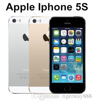 5784d5ed3b0 Comprar Moviles Libres Baratos Venta Caliente Apple Iphone 5S Teléfono  Móvil LTE Dual Core 4.0 Pulgadas 1G RAM 64GB ROM 8MP IOS Bajo Precio  Teléfono ...