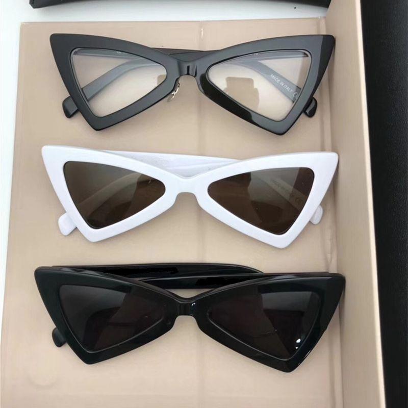 d2ca7faadbe 2018 Avant Garde Women Sunglasses New Triangle Design Sun Glass Girls Cat Eye  Sunglass Unique Fashion Sunglasses With Retail Package Native Sunglasses ...