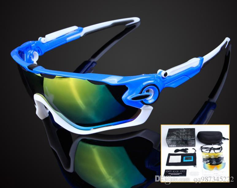2afdb9d1b20 2019 Awbreaker 5 Lens Cycling Bike Glasses Outdoor Eyewear Customized  Bicycle Top Quality Goggles Sports Glasses From Qq987345222