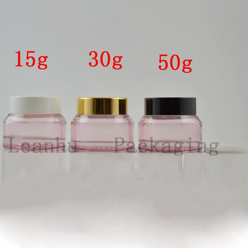 50g Pink Cream Jars Cosmetic Packaging For Facial Mask, Eye Cream, Essence of The Container Empty Cream Jars
