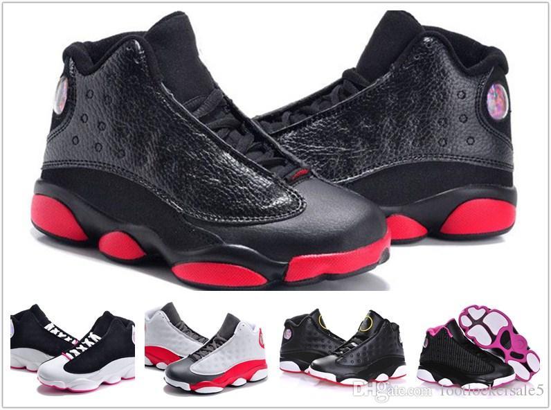 newest 5fd81 0c528 Großhandel 2018 KIDS 13s Basketball Schuhe One Penny Hardaway Kinder Tennis  FOAM Aubergine Basketball Sportschuhe Outdoor Athletic Sneaker Schuh Von ...