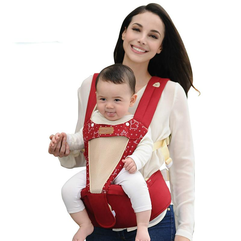 Breathable Multifunctional Front Facing Baby Carrier Infant Baby