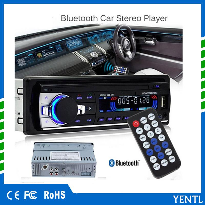 c7f106e158c YENTL 12V Bluetooth Car Stereo FM Radio MP3 Audio Player 5V Charger USB SD AUX  Auto Electronics Subwoofer In Dash 1 DIN Car And Stereo Car Audio  Accessories ...