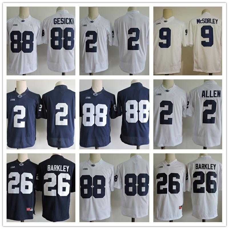 Penn State Nittany Lions  26 Saquon Barkley 2 Marcus Allen 88 Mike ... f047f3364