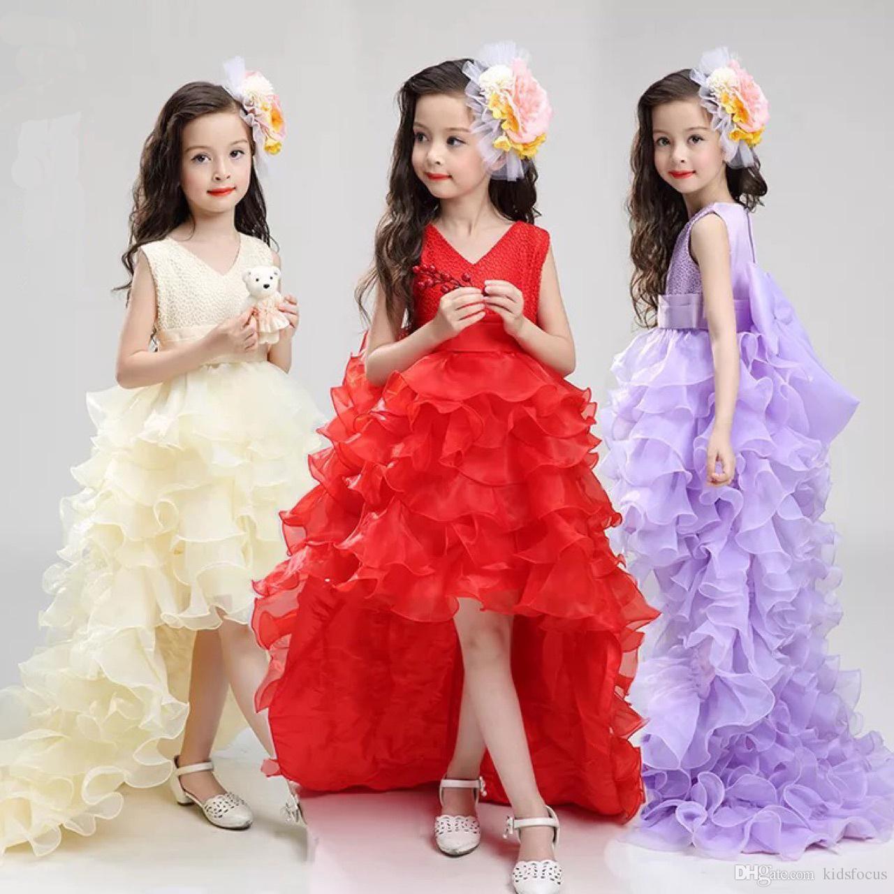 2018 hot baby girls sleeveless skirt cute baby girls children dress