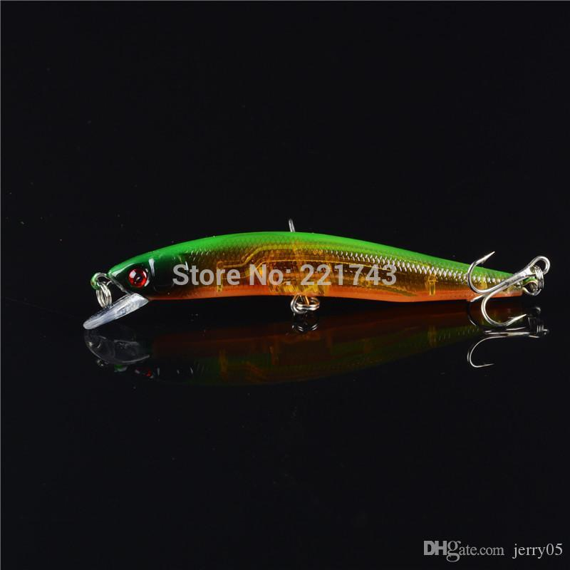 15a3904b52c94 2019 Hot Sale Minnow Plastic 3d Eyes Fishing Bait Long Body Swimbait  Crankbait Lure Fishing Tackle From Jerry05