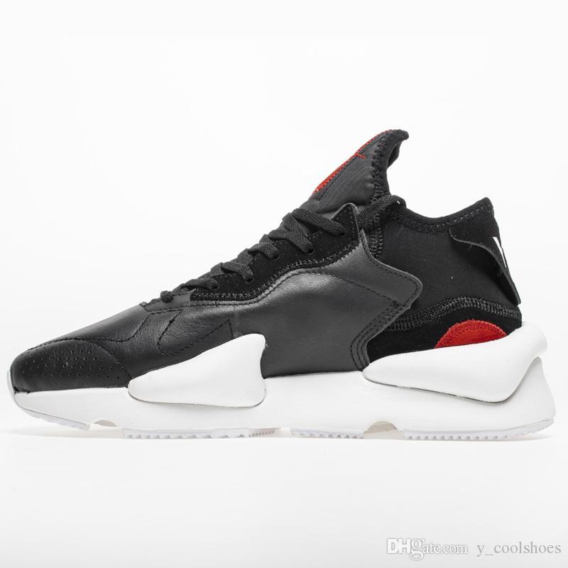 09fc2e9118e07 2019 2018 Top Quality Athletic Y 3 Saikou Men Shoes Women Running Shoes  Core White Triple Black Men Kusari Sneaker Women Size HFLSXZ024 From  Sun bloom