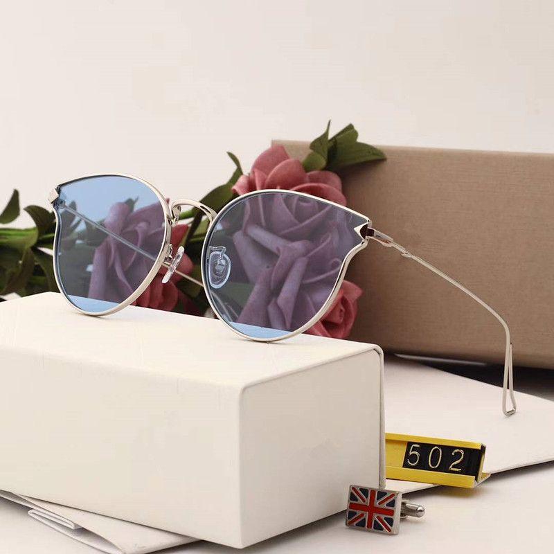 502 Moda de Luxo Sunglass Mulheres Marca Deisnger UV Lente de Proteção Grande Quadro Bowknot Estilo Verão Full Frame Grande Rosto Vem Com Caso